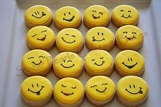 Silly Smiley Faces by Cookie Connection.juliausher.com
