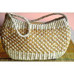Golden Handbag from KraftInn