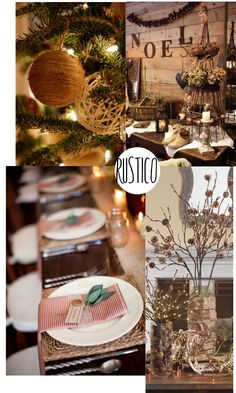 rustic christmas trees http://www.liveonbeauty.org