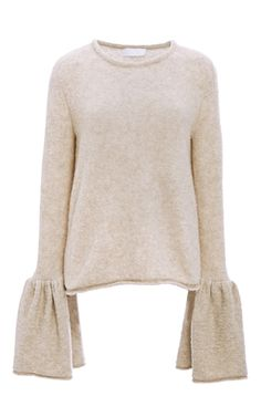 Cashmere Bell Cuff Sweater by CO for Preorder on Moda Operandi