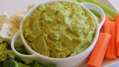 Clean & Delicious with Dani Spies » Clean Eating Avocado Cilantro Hummus Recipe