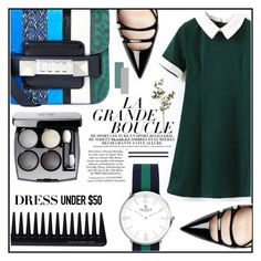 """""""Dress Under $50"""" by misskarolina ❤ liked on Polyvore featuring Proenza Schouler, Gucci, GHD and Dressunder50"""