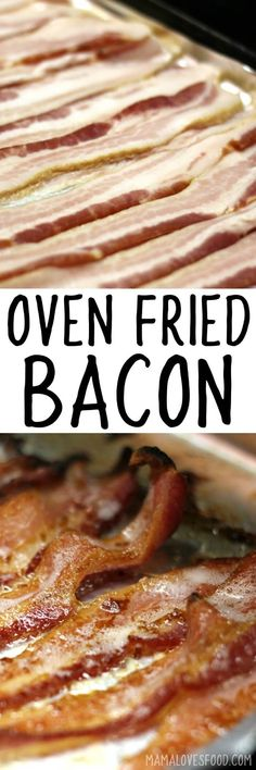 this is the best way to make bacon!!! BACON IN THE OVEN #bacon #baconintheoven #breakfast