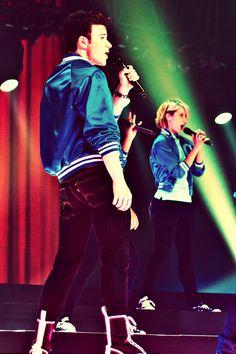 Kurt and Quinn