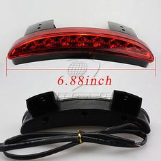 Back To Search Resultshome Motorcycle Clear Chopped Fender Edge Led Tail Light With Turn Signal For Harley Iron Xl883 Xl1200 X48 More Discounts Surprises