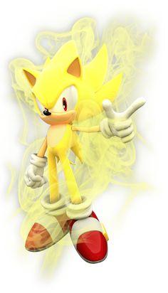 Sonic the Hedgehog - Super Sonic, I just love Super Sonic, he is a big inspiration