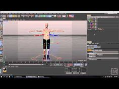 Cinema 4D - Character Motion with Mixamo Fuse & Cinema 4D - YouTube