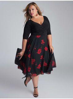 the Isadora Dress - Strut Curvaceous Fashion