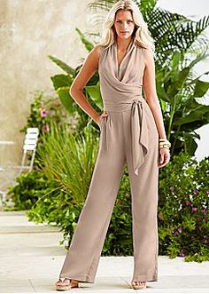 Tan Jumpsuit Womens