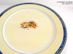 Hoy Cocinas Tú: Sopa De Peras Y Gorgonzola Al Brandy   Gastronomía & Cía