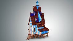 Low Poly Stylized Wooden House has just been added to GameDev Market! Check it out: http://ift.tt/1Yt2yrb #gamedev #indiedev