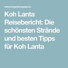 Koh Lanta Reisebericht: Die schönsten Strände und besten Tipps für Koh Lanta