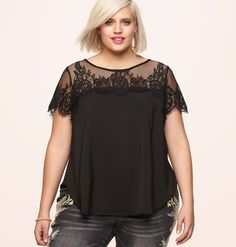 2b532085aab06 Plus size fashion clothing including tops