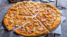 Pizza is one of my favorite foods, and the sweet sauce at Papa John's is my all-time favorite. My viewpoint is, if you're going to make it at home, don't make it Pizza Recipes, Healthy Recipes, Pineapple Pizza, Kitchen Science, Cup Of Cheese, Pizza Delivery, Sweet Sauce, Homemade Sauce, Good Enough To Eat