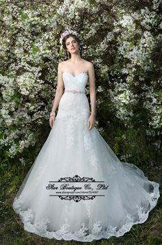 2015 Fast Shipping Sweetheart Mermaid Lace Wedding Dresses Romantic Lace Up Back Bridal Dress Vestido De Noiva -in Wedding Dresses from Weddings & Events on Aliexpress.com | Alibaba Group