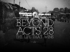 Beyond Acts 28 - The Life That Wins DVD Series by Number Ninety Two Studio , via Behance