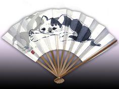 a cat tote bag artist My Works, Hand Fan, Japanese, Tote Bag, Cats, Artist, Products, Gatos, Japanese Language