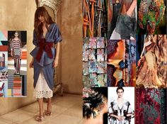 Moodboard made after visiting Fashion Fairs in Berlin and Amsterdam #4