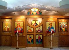 Iconostasis of Our Lady of the Sign Byzantine Catholic Church in Coconut Creek