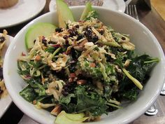 Native Foods Cafe --- Crunchy Kale Salad. You. Must. Try.
