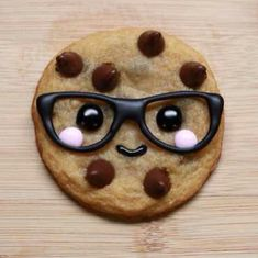 cookie with glasses