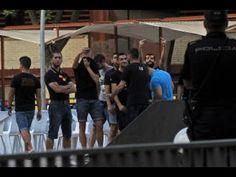 Agresiones del grupo neonazi Lo Nuestro en el desfile del Día del Orgull...