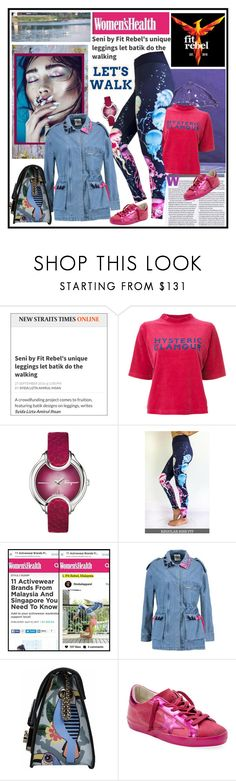 """""""FIT REBEL (1/20)"""" by carola-corana ❤ liked on Polyvore featuring HYSTERIC GLAMOUR, Salvatore Ferragamo, SJYP, Furla, Golden Goose, fulllength, riseabove, seni, fitrebelapparel and jellyfishdesign"""