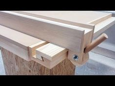 Homemade Table Saw Fence System | Easy Simple New Style - YouTube