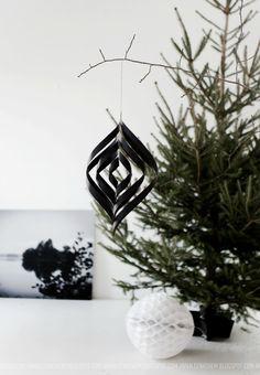 ANNALEENAS HEM // home decor and inspiration: CHRISTMAS TREE DECORATION DIY
