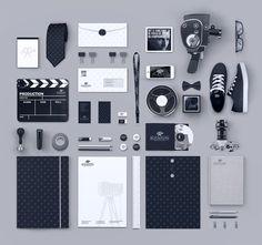 Las siguientes imágenes muestran algunos diseños de identidad corporativa sumamente creativa, son diseños de marcas dirigidas a diferentes tipos de mercado