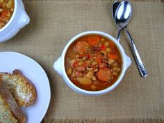 13 Bean Soup with Chorizo (Slow-Cooker) - Just the Tip