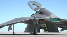 """Mike James Media™ """"L Craft"""" Future Fighter Concept"""