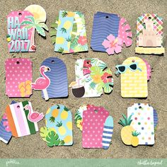 Heather Leopard: Beach Tag Mini Album | Quick Gift