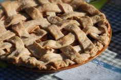 Supersimple apple pie recipe.