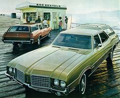 1972 Oldsmobile Vista Cruiser and Cutlass Cruiser Station Wagons | Flickr - Photo Sharing!