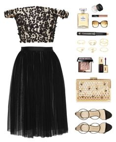"""""""""""Has it ever struck you that life is all memory, except for the one present moment that goes by so quick you hardly catch it going?"""" -Tennessee Williams"""" by are-you-with-me ❤ liked on Polyvore featuring Katie Ermilio, Needle & Thread, Bobbi Brown Cosmetics, Giuseppe Zanotti, Marc Jacobs, Charlotte Russe, Dr.Hauschka, Yves Saint Laurent, Chanel and NARS Cosmetics"""
