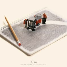 Note Sweeper from the Miniature Calendar