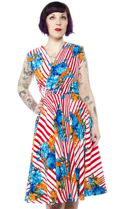 WAX POETIC APHRODITE DRESS $82.00 #waxpoetic #retrostyle #vintagestyle #pinupstyle