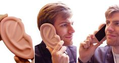 Giant Ear Shaped iPhone Case - good for a laugh!