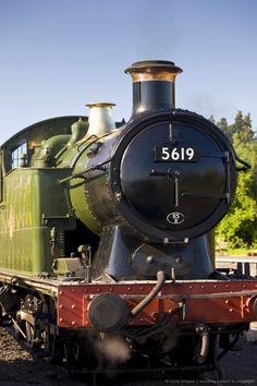 Image detail for -British Railways Steam Train Engine