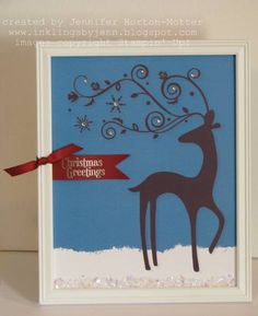 Framed Dasher by stamp_pad - Cards and Paper Crafts at Splitcoaststampers