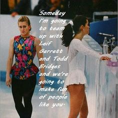 Tonya Harding-Love watching her and the rest of the cast on World's Dumbest. And LOVE this clip! Nancy Kerrigan was such a snotty bitch!