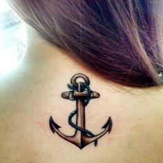 """Tatuagem enviada pela <a href=""""http://instagram.com/gabinicolla"""">@gabinicolla</a> feita pelo tatuador <a href=""""http://instagram.com/galantetattoo."""">@galantetattoo.</a>  Âncora significa segurança e porto seguro, quem é o seu porto seguro?                     #amazingink"""