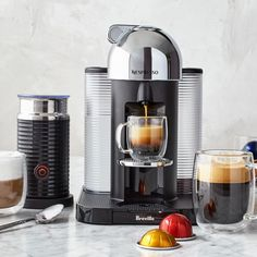 What's the Difference Between All the Nespresso Coffee Machines? — Food Network What's the Difference Between All the Nespresso Coffee Machines? Coffee And Espresso Maker, Double Espresso, Coffee Shop, Coffee Maker, Coffee Type, Cappuccino Machine, Italian Coffee, Fresh Coffee, Shopping