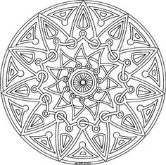 Free Printable Mandala Coloring Pages | 101 Ideas