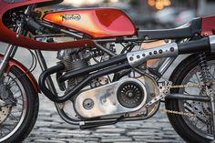 Sunburst: NYC Norton's dazzling 1972 Commando | Bike EXIF