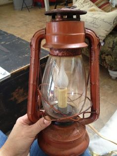 It's Just Me: How to Make a Lighted Lantern