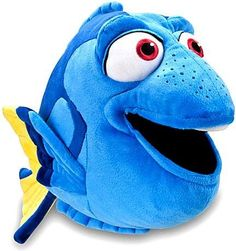 Finding Nemo: Dory Plush -- 17'' L, 2015 Amazon Top Rated Plush Puppets #Toy