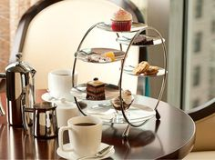 Miniature but still oh-so-merry treats from a holiday afternoon tea at @Four Seasons Hotel Chicago. #FSTaste