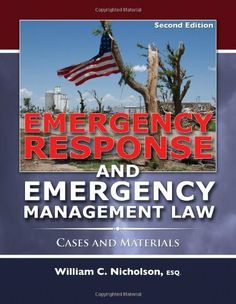 This second edition is a major revision and update of Emergency Response and Emergency Management Law. As the first text to be published on emergency response and emergency management law this book. Emergency Response Plan, No Response, Carlito's Way, Emergency Management, Emergency Preparedness, Troops, Good To Know, Law, This Book